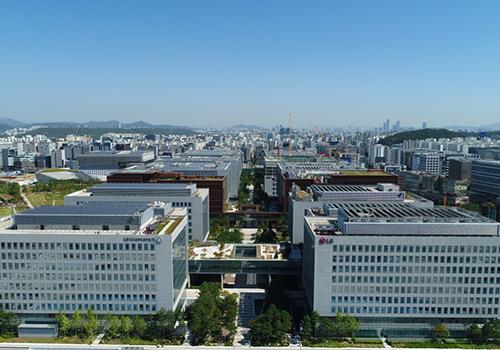 Bis zu 25.000 Mitarbeiter des LG-Konzerns werden hier an Innovationen für die Zukunft forschen.